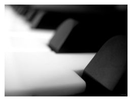 Piano Keys by Hekatommyriagon