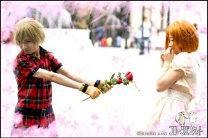 Kisa -Will you be my Valentine by thebakasaru