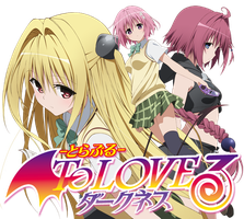 To LOVE Ru Darkness - Anime Icon by Rizmannf