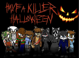 Halloween Slasher Colab by DeviantK14