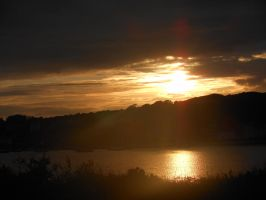 Sunset over Millport Bay by Arlandria83