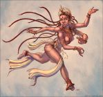 Dancing Devi by Gorrem