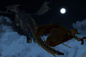 FANTASTIC SLEIGH RIDE by lordcoyote