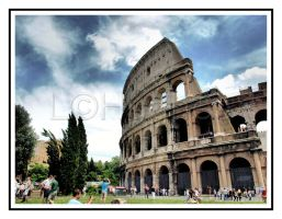 The Flavian Amphitheater  HDR by lehPhotography