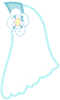 Cheerilee's Wedding Veil by Vectorshy