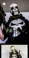 Punisher cosplay chibicon 2014 by Dmitrys