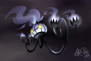 Chandelure: My favorite Fire Type Pokemon by Marioshi64