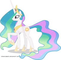 I VECTORIZED CELESTIA!!!! by NikoAccampora