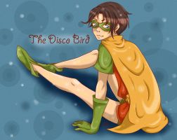 Dick the Disco Bird by ElleDontYouDare