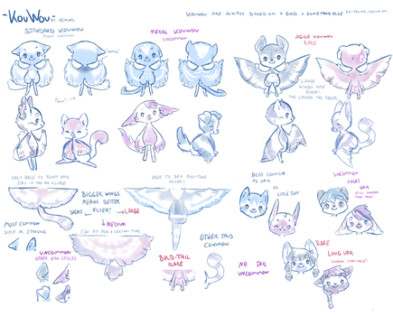KouWou Quick Reference by Reminel