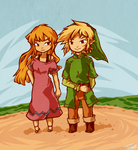 Comm: Rory and Link by tellie-tale