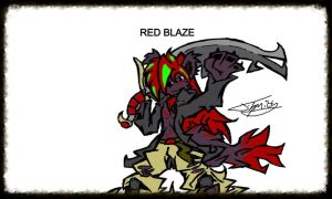 Red blaze by Greenlightnin93
