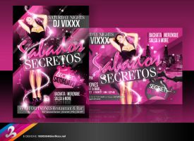 Secret Saturdays Flyer by AnotherBcreation