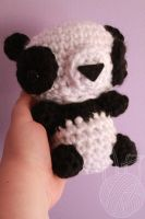 Big Panda - for sale on Etsy by theyarnbunny