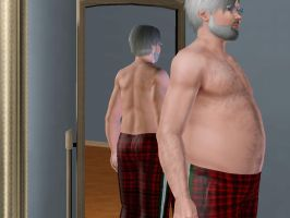Sims 3 Santa's Belly by Beast72
