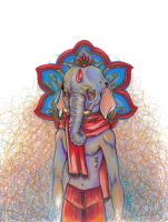 Ganesha- Colored by Adm-James