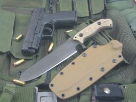 Vindicator Combat Knife by NobleKnives