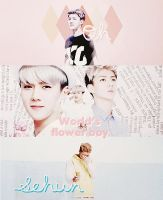 Happy Sehun's Day! by kamjong-kai
