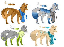 Random adopts 5 CLOSED by TlKl