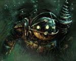 BioShock - Big Daddy practice by Bohy