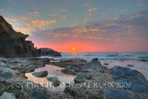 Rocky Sun Rise by attieAFRICA