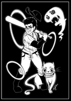 Markiplier/OFF: The Batter and co. by Blue-Fayt