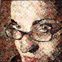 Self Portrait ala Chuck Close by artsysav