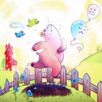 dancing pigs by chicho21net