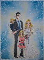 C: Family Winter Wedding Portrait by Toto-the-cat