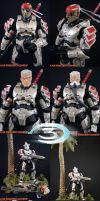 Custom Halo 3 Hayabusa xtra's by KyleRobinsonCustoms