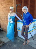 Frozen - Elsa and Jack Ice Cream for everybody by Ayachan81