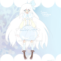 [CLOSED]Adoptable-Snow Candy by Melonchu