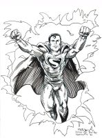 Superman Issue 9 Revisited by ComicBookArtFiend