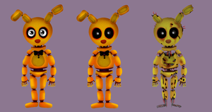 from SpringBonnie to Springtrap by ShooterSP