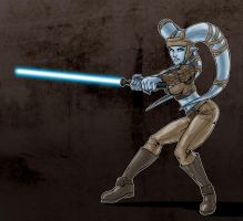 Aayla Slash by J-Garou