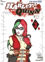 Halrley Quinn (Injustice) by Elvatron