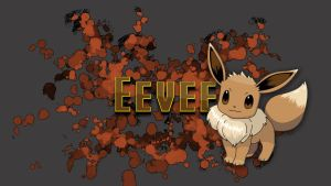 Eevee Wallpaper by wiklander95