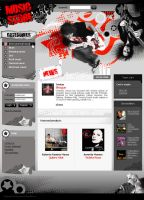 Rock music store design. by alex-tanya