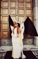 Bleach - Ulquiorra and Orihime By The S.C. Cosplay by theSCcosplay