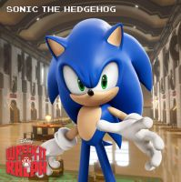 'Sonic The Hedgehog': Wreck-It Ralph 2013 Movie. by DWOWForce