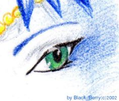 the first eye :p by BlackBy