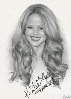 Kimberley Walsh - Signed by Charlzton