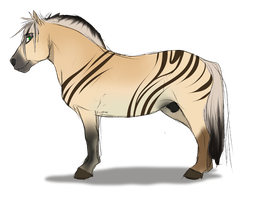 Horse Adoptable by SEGAmastergirl