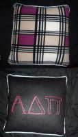 Alpha Delta Pi Pillow by obiwankatie
