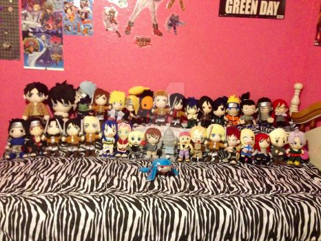 Anime Plush Collection by TumbleZee