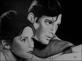Superman and Lois Lane by foxartsbrazil