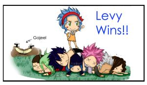 Levy Wins - Colour by shingmei