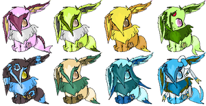 Eevee Adoptables - Shining Ambitions .::CLOSED::. by StarryAdopts