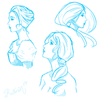 Profile sketches by Keitorin14