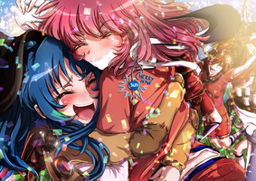 Ami x Minori - and if you trip with the loved one by CherryInTheSun